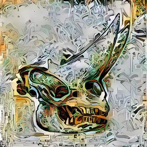 Dinosaur Skull 34