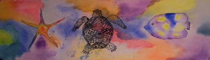 Tortoise - Aqua Colour