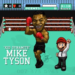 Mike Tyson 8 Bit All-Star