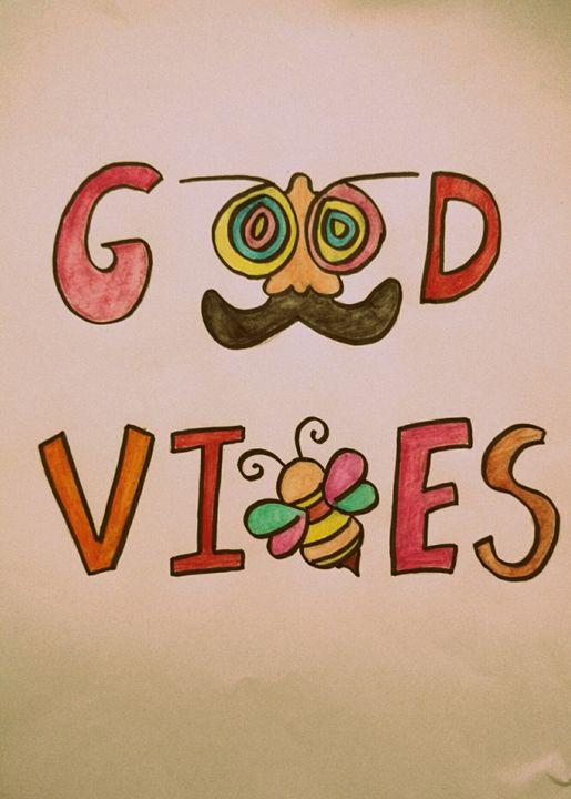 Good Vibes - A jar of Meraki