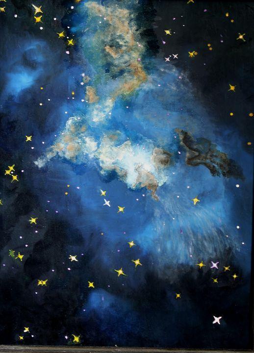 Lagoon Nebula II - Heather Van Doorn
