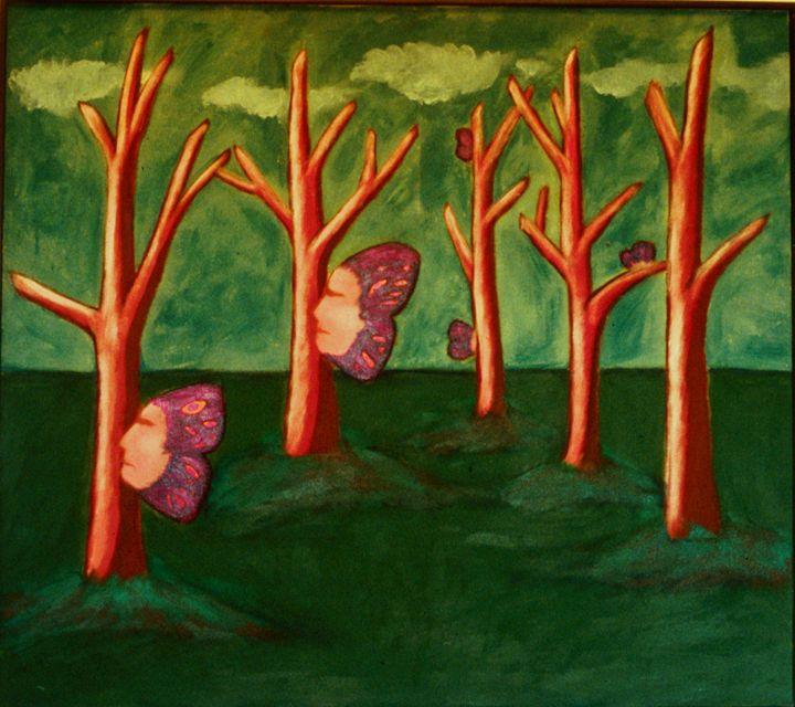 butterfly men of my sleep - Heather Van Doorn