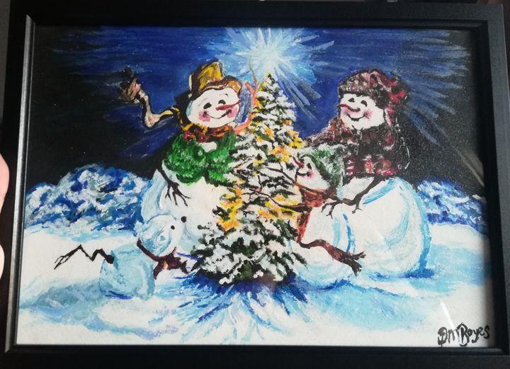 Snow family - Donna Boyes