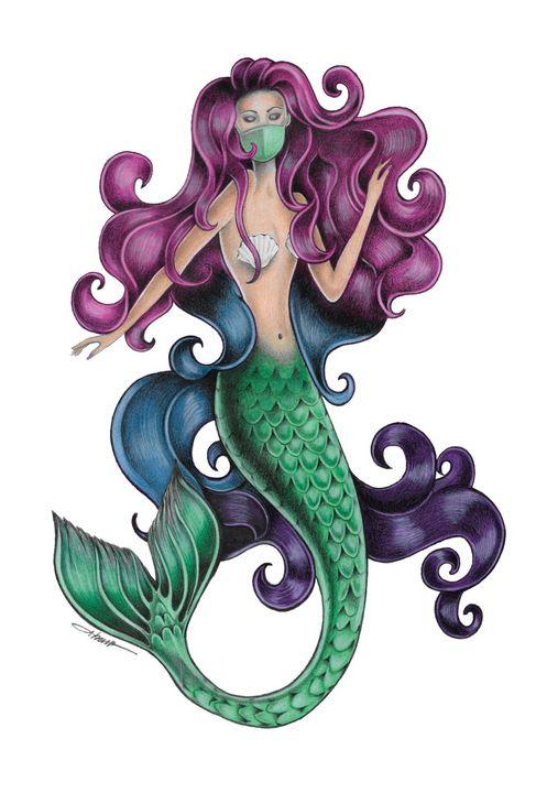 Quarantined Mermaid - Quarantine Girls