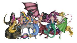 Fantasy Quarantine Girls