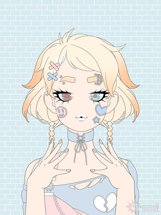 Original Character Design - Female - PuzbieArts