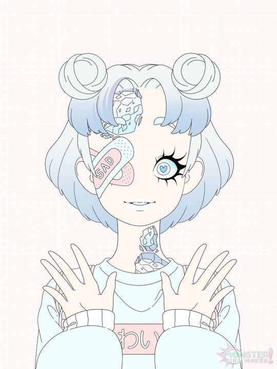Original Character Design - Female. - PuzbieArts