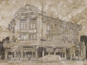 Classic Villa Sketch