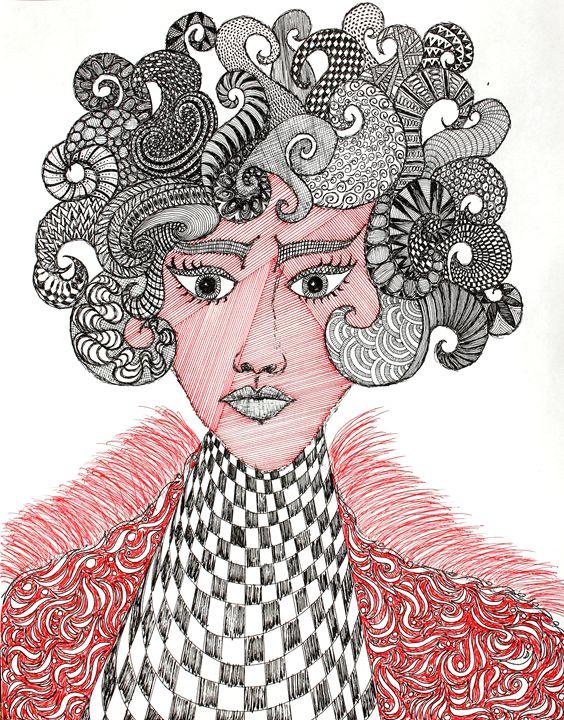 Eurydice - Sherise Seven Art