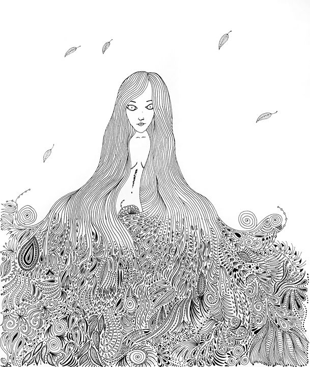Let me be your shelter. - Sherise Seven Art