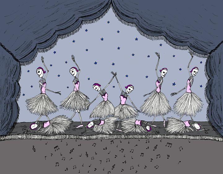Danse Macabre - Sherise Seven Art