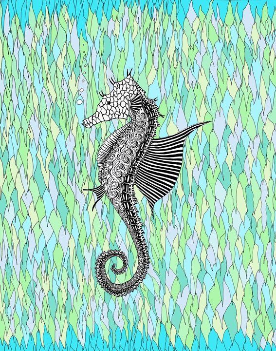 Sea Horse - Sherise Seven Art
