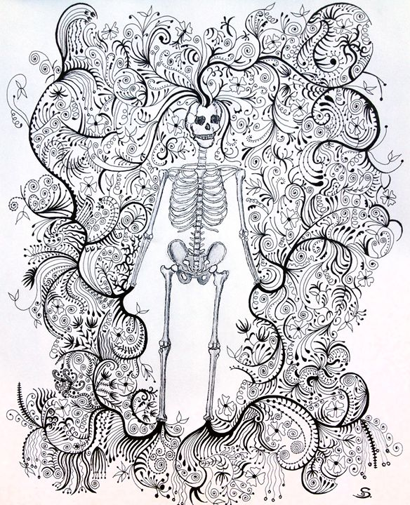 In Death there is new life - Sherise Seven Art