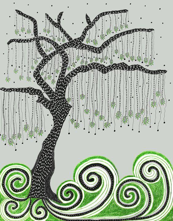 Tree of Mystery - Sherise Seven Art