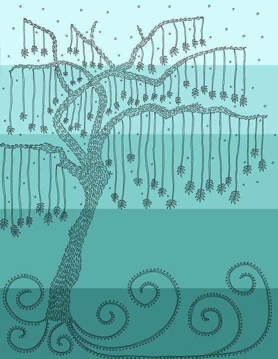 Tree of Happiness - Sherise Seven Art