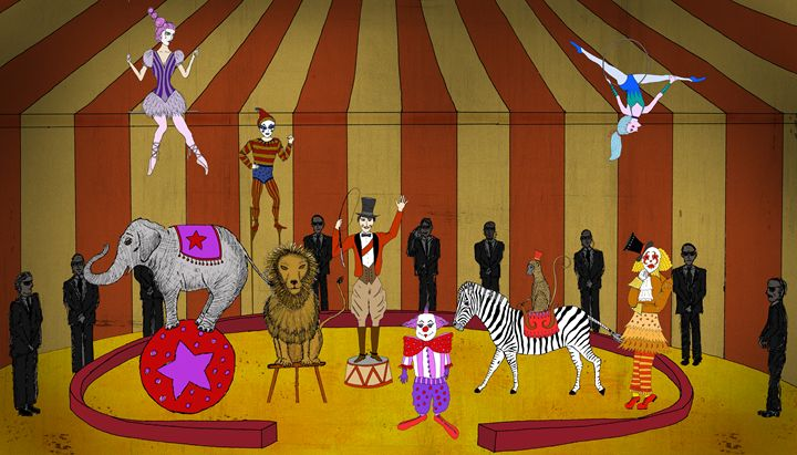 The Secret Circus - Sherise Seven Art