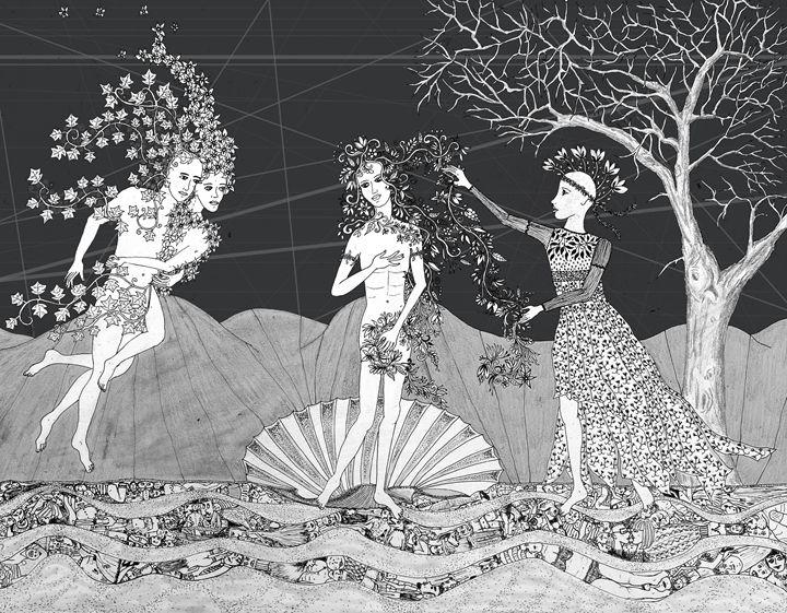 Venus - Sherise Seven Art