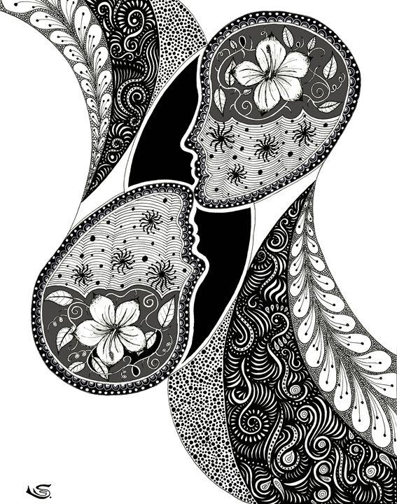 Sharing Dreams - Sherise Seven Art