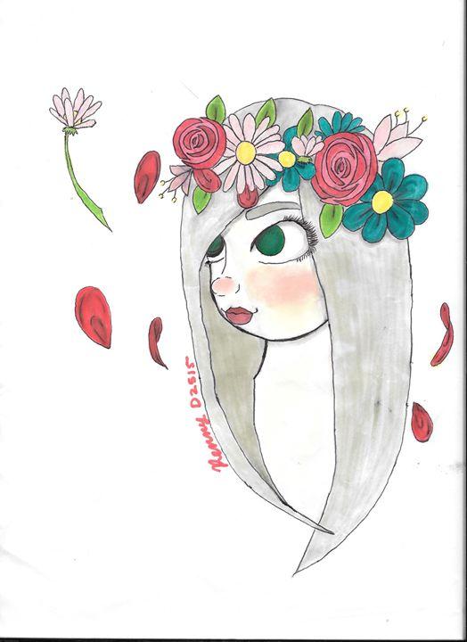 Flower Piece - Serenity sewell