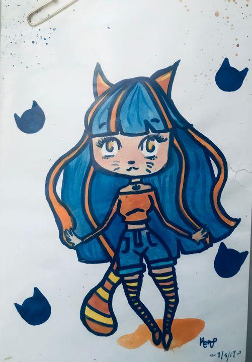 Cat Girl - Serenity sewell