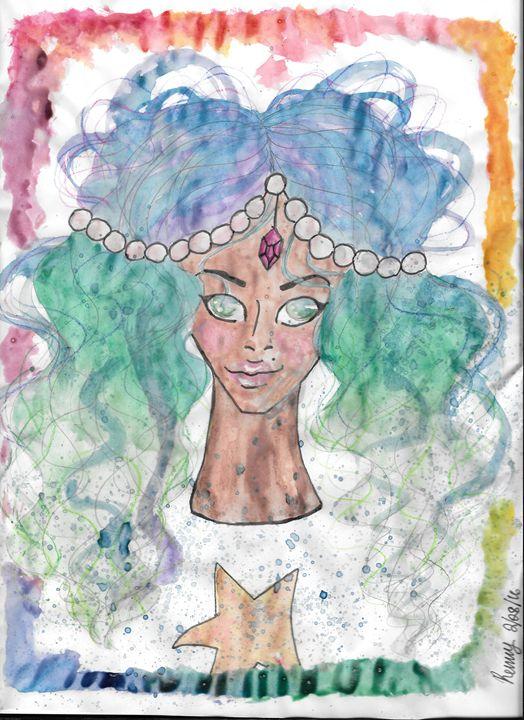 Rainbow Ocean Girl? - Serenity sewell