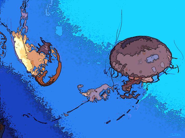 Jellyfish III - Three Cat Designs