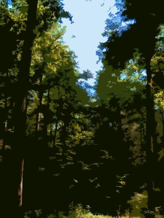 Quiet Forest - Three Cat Designs