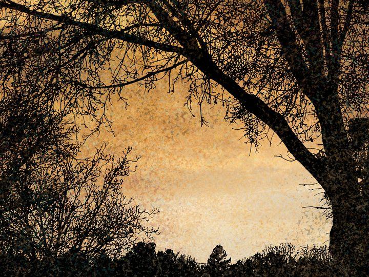 October Sunset - Three Cat Designs