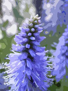 Lavender Spire