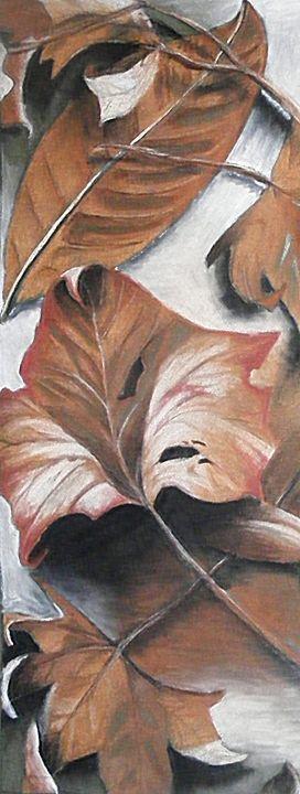 Fall Leaves - Three Cat Designs