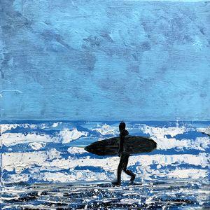 Alone Surfer