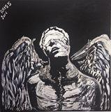 Chained Fallen Angel