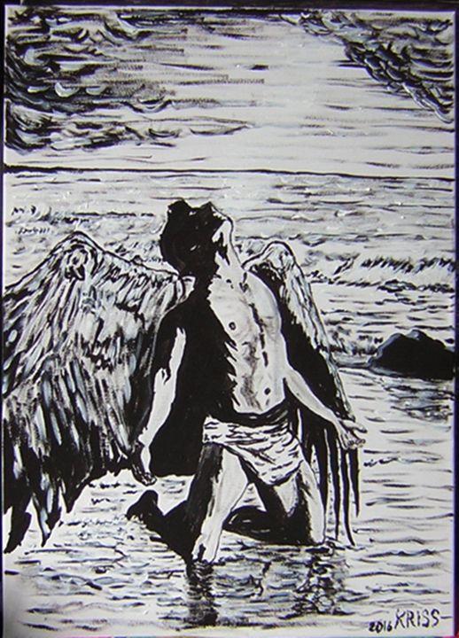 Fallen Angel (Sold) - Kriss