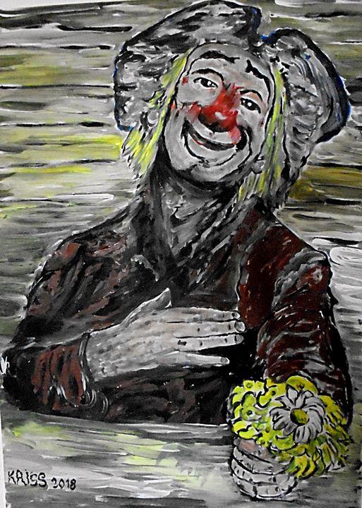 happy Clown (SOLD) - Kriss
