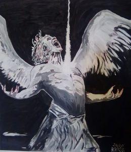 angel chained fallen angel (