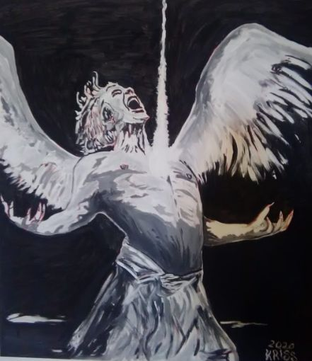 angel chained fallen angel ( - Kriss