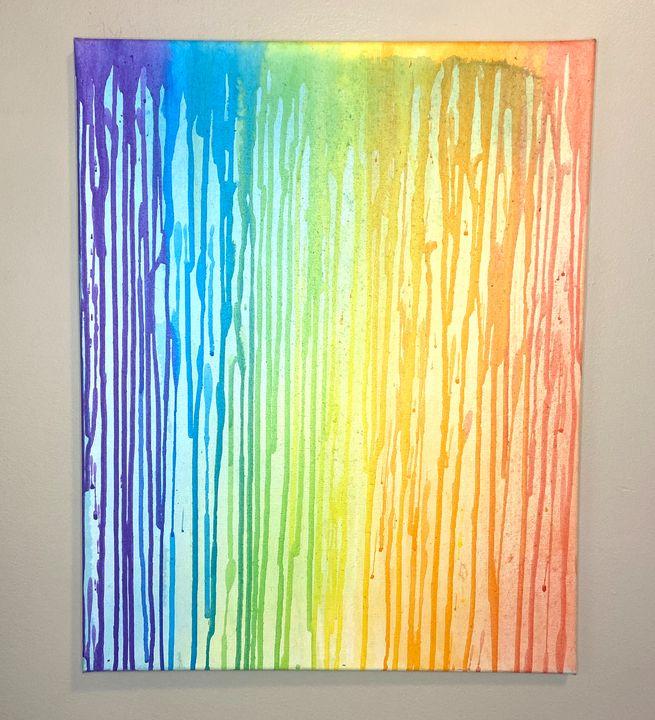 MAKE IT RAINbow - Tiktok art by Britt