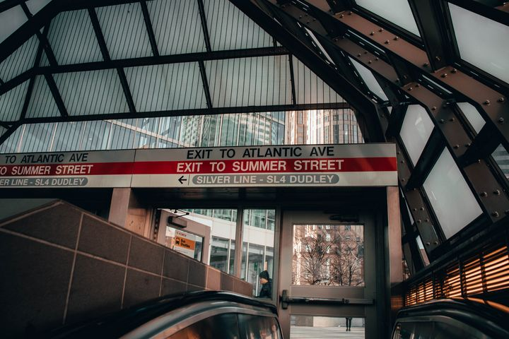 Leaving South Station - Griffin Moran Photography