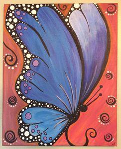 Serene Butterfly
