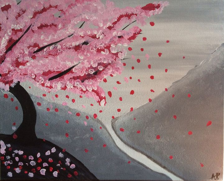Cherry blossoms - Lluckygirl