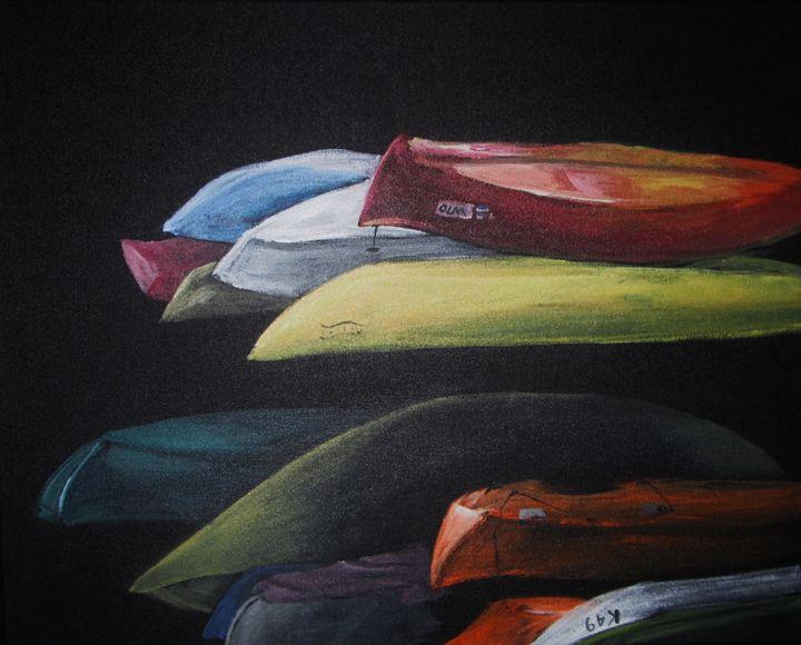kayaks - Licking Creek Studio