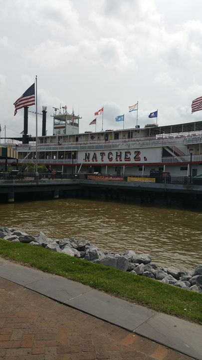Natchez Steamboat - Ray