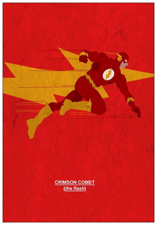 Crimson Comet           #5 - MattBlank