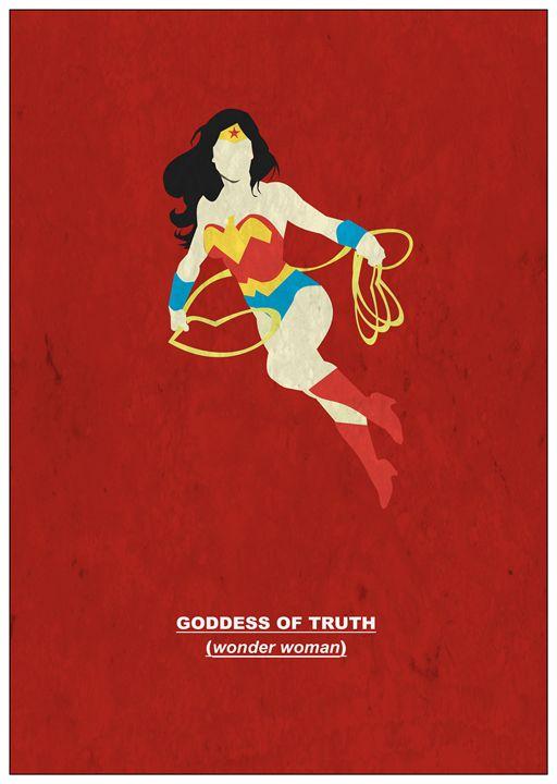 Goddess of Truth          #3 - MattBlank