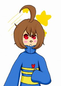 Frisk and Chara Fusion