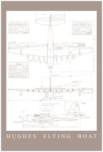 Spruce Goose Engineering Drawing Pos