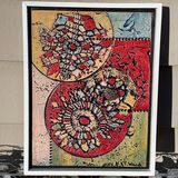 Handcrafted Textured Painting