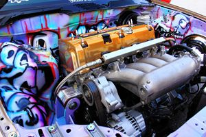 Enemy Creations Engine Bay