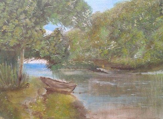 Quiet Stream - Benthantoinne Fine Art studio