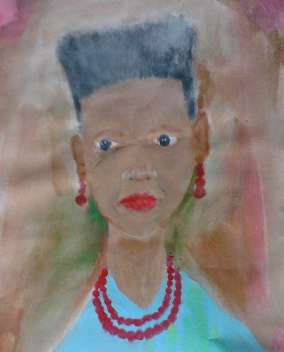 Grandma Jamaica - Benthantoinne Fine Art studio
